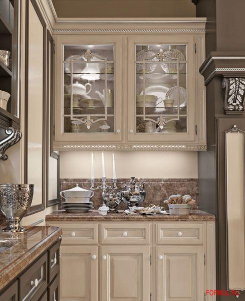 итальянские кухни - роскошная кухня - Martini Mobili kitchen - kuchen mortini mobili klassisch luxurios
