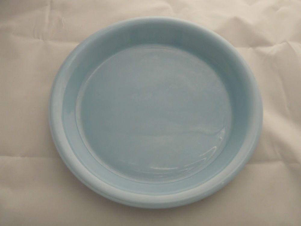 RARE Vintage Pyrex Delphite Bluebell Blue 10 Inch Pie Plate 210 Hard To Find & RARE Vintage Pyrex Delphite Bluebell Blue 10 Inch Pie Plate 210 Hard ...