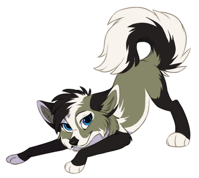 Commission Xwhitedreamsx Cute Wolf Drawings Anime Wolf Drawing Cute Animal Drawings