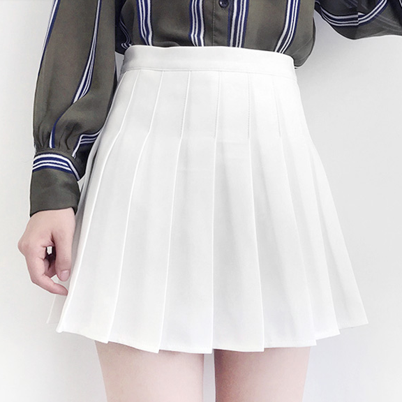 fa60363392d3 Candy Color Tennis Pleated Skirt SE9185 in 2019 | Mini skirts ...