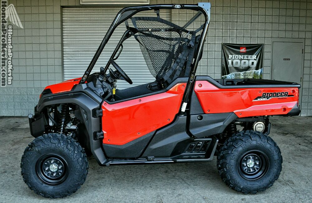 2018 Honda Pioneer 1000 Eps Review Utv Side By Side At 2018