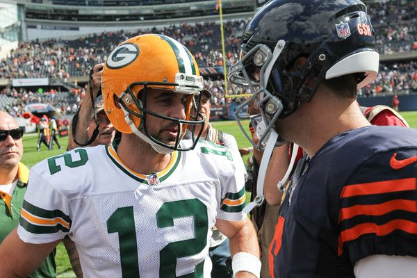 Aaron Rodgers Photos Photos Green Bay Packers V Chicago Bears Green Bay Packers Aaron Rodgers Packers
