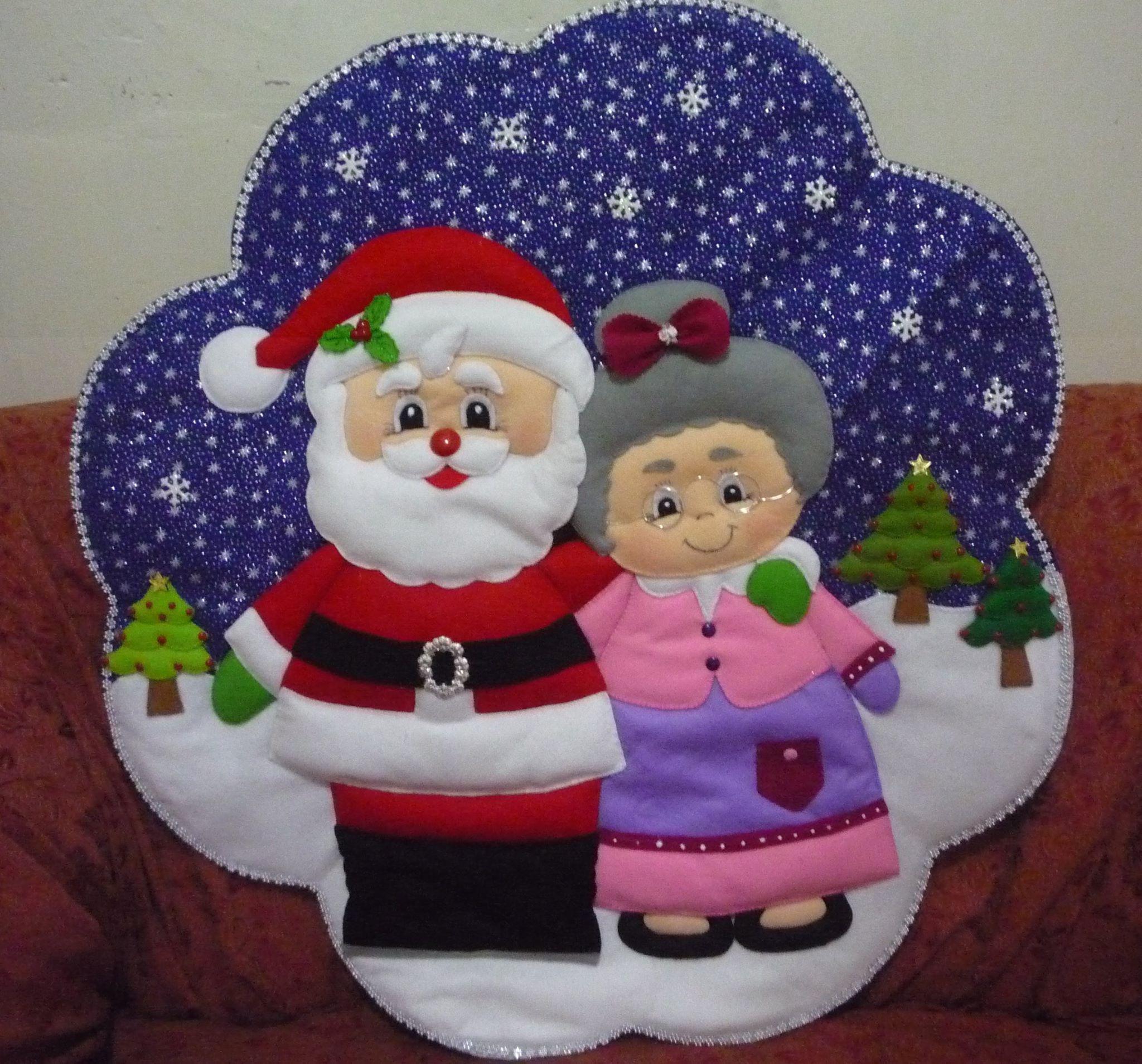 En pa o lency mu ecos pinterest felt ornaments - Cojines de patchwork ...