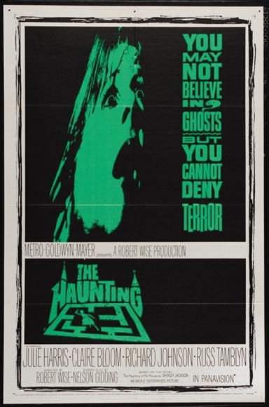Image result for the haunting 1963 poster
