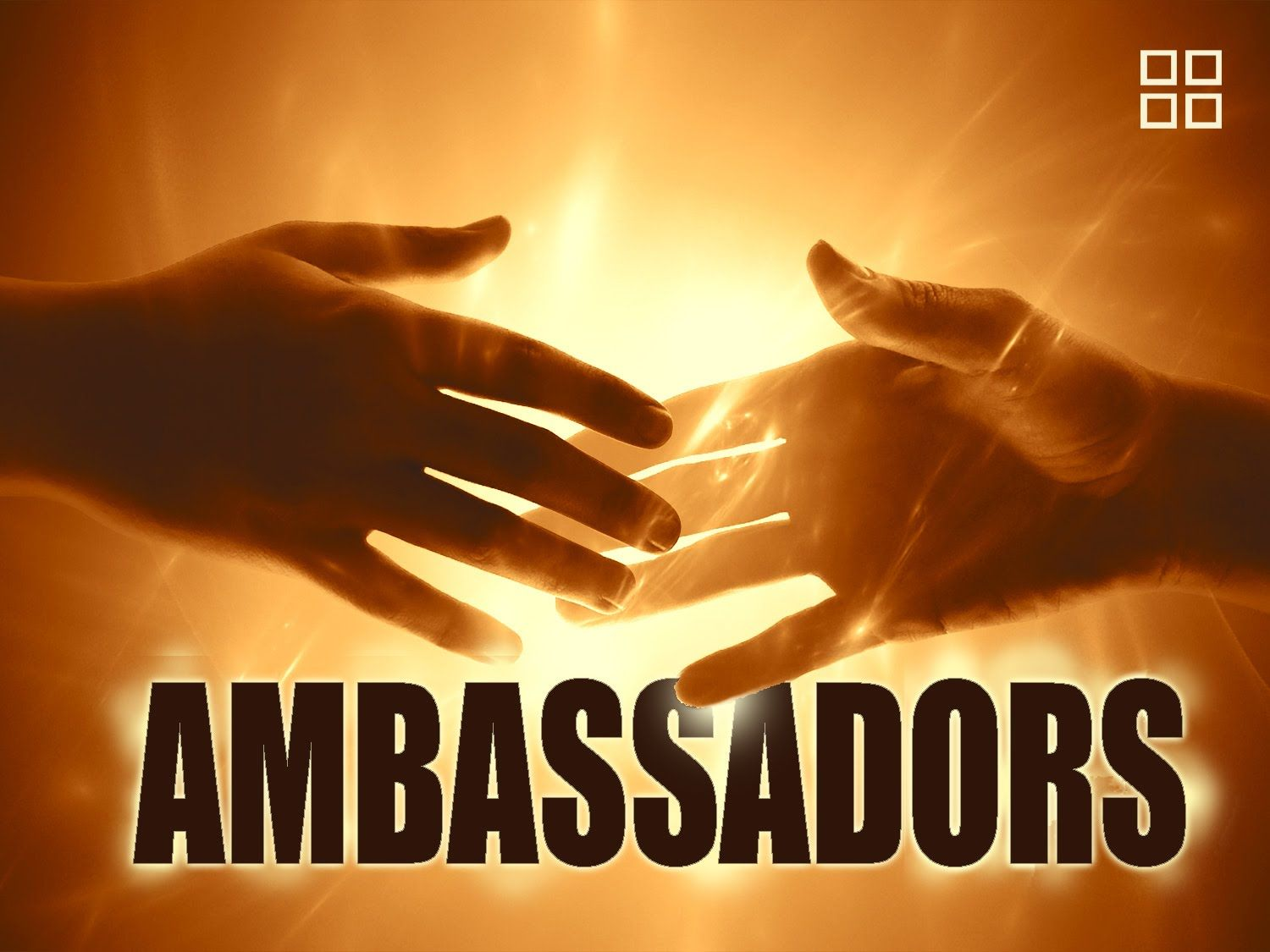 """Ambassadors from other countries are afforded Diplomatic Immunity when traveling outside or their own country. Likewise, we are Ambassadors for Christ and are on a missions trip in a foreign land. Watch the video """"Becoming an Ambassador for Christ"""". http://youtu.be/mMVq-Cl2LsE"""
