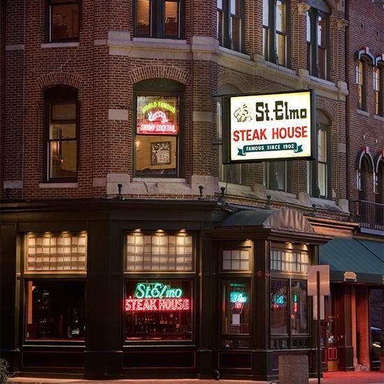 Iconic Steak Houses St Elmo House Indianapolis