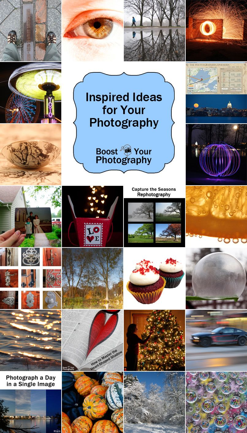 Boost Your Photography: Ideas