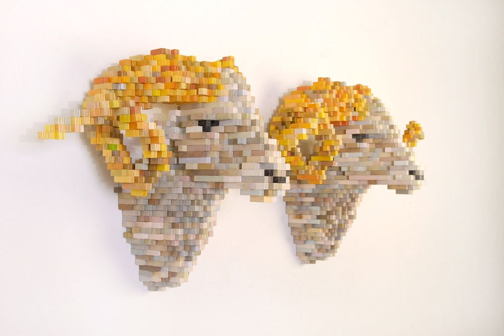 Shawn Smith's Pixel Sculptures | Colossal