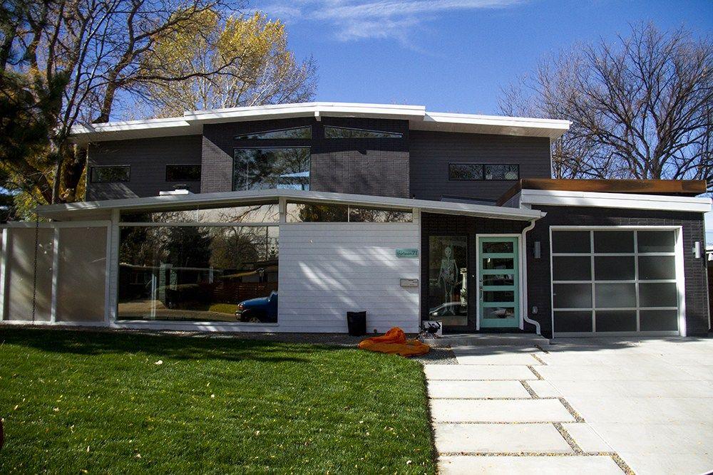 Arsitektur Rumah Mid Century Mid Century Modern House Plans Mid Century Modern Exterior Mid Century Modern House