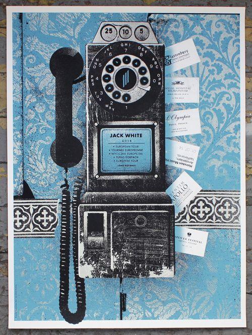 Jack White Poster by Alan Hynes