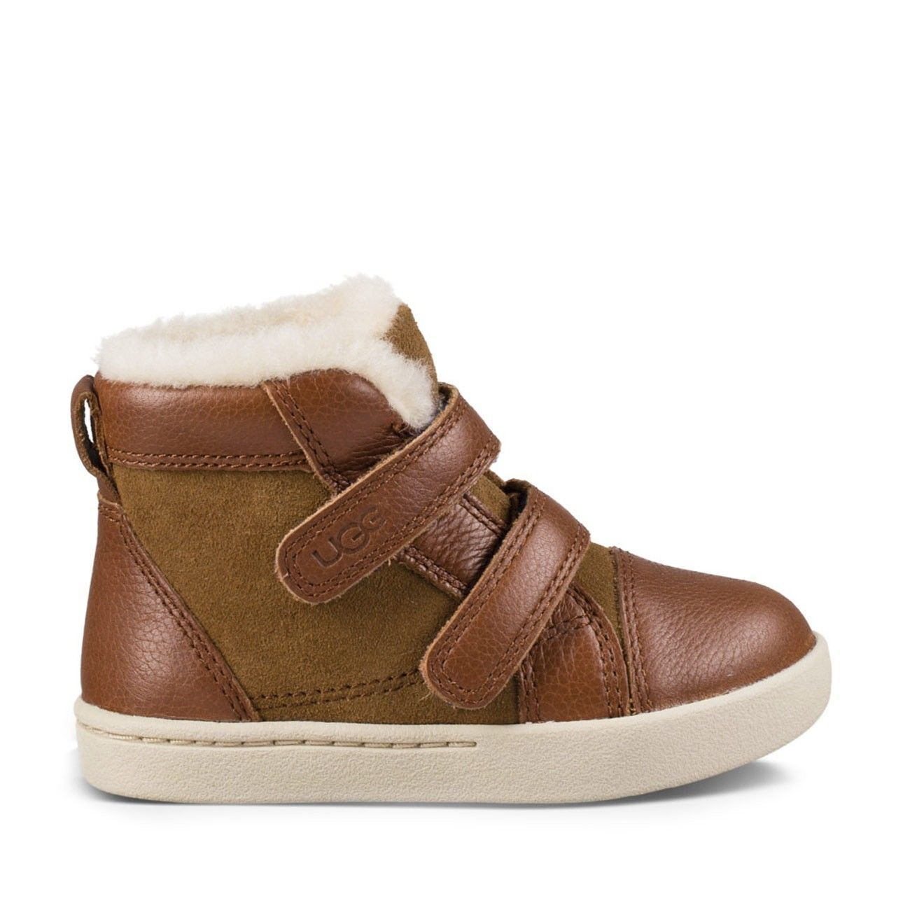 1bc43430986 Rennon Herringbone Velcro Bootie - Chestnut-6T | Products | Ugg ...