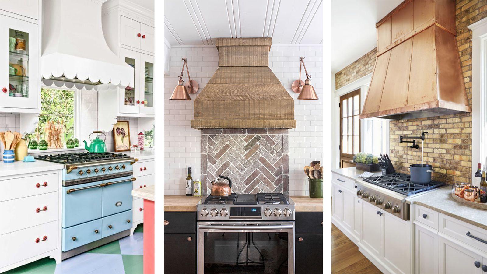 15 Kitchen Range Hoods That Made A Kitchen Look So Much  Prettiercountryliving #KitchenRanges