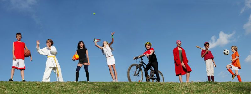 Sports and games for kids - Home Fitness Garage, best exercise equipment