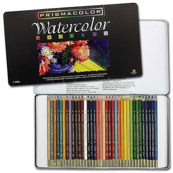 Prismacolor Watercolor Pencil Sets Watercolor Pencils Art