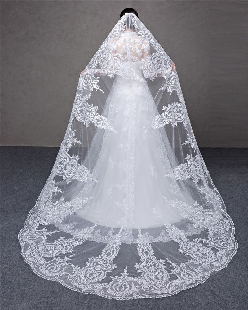 Cheap Veil Cathedral Buy Quality Veil Netting Directly From China Veil Brush Suppliers Nbsp Nbsp Nbsp Wedding Accessories Wedding Veils Wedding Veil