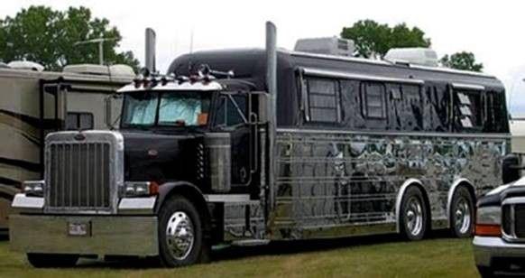 Peterbilt Rv Trucks Truck Camping Big Rig Trucks