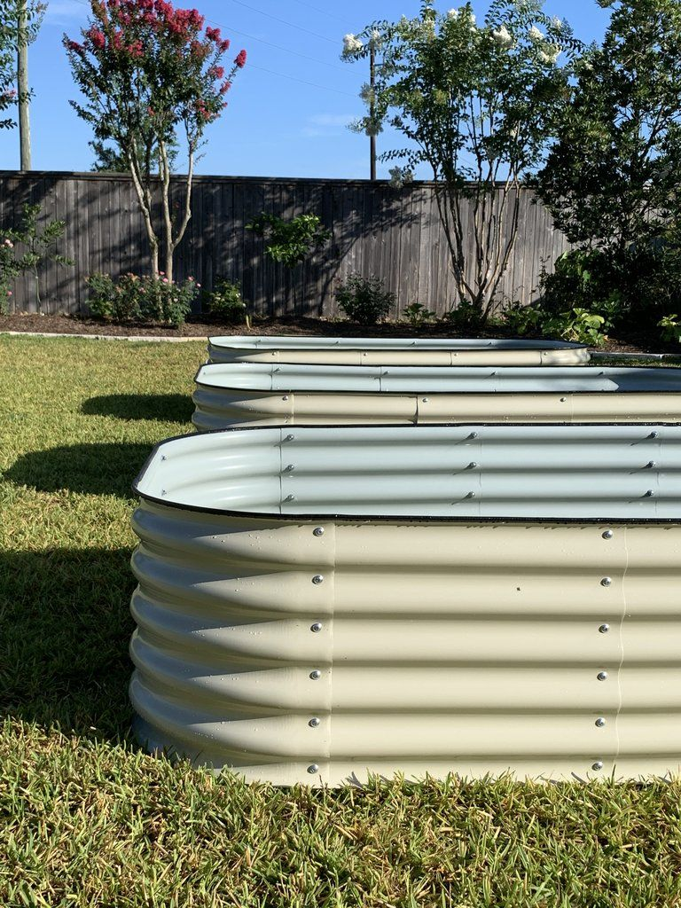 Vego 9 In 1 Modular Raised Garden Bed In 2020 Modular Raised Garden Beds Garden Beds Raised Garden Beds