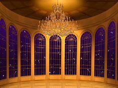 Beauty And The Beast Ballroom Background
