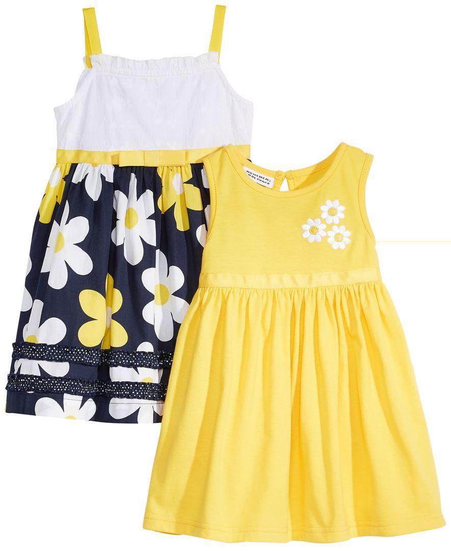 99dec9dd1b30 Blueberi Boulevard 2-Pack Printed Sundresses