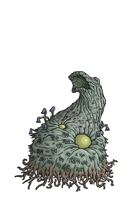 Tous les monstres imaginés par H.P. Lovecraft illustrés par Mike Budowski