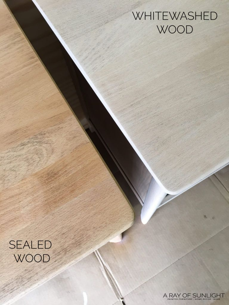 How To Whitewash Wood To Create A Natural Raw Wood Finish Whitewash Wood Whitewash Stained Wood Raw Wood