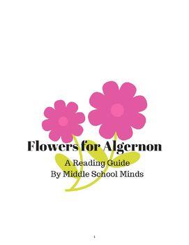 007 Flowers for Algernon A Novel Unit Middle School Novel