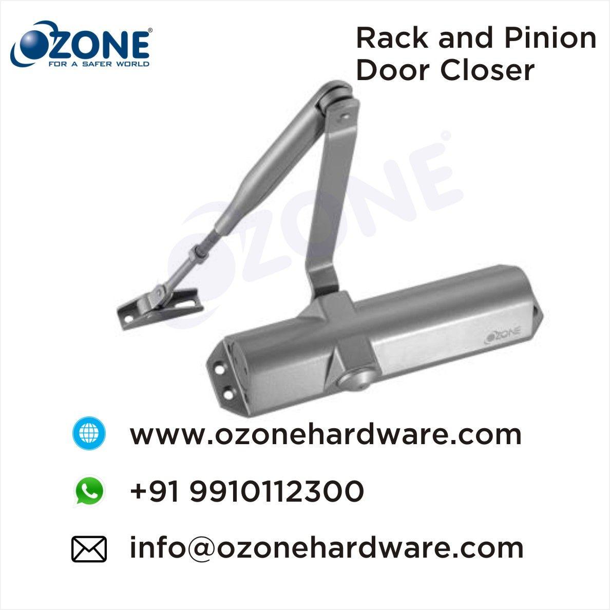 Rack And Pinion Door Closer With Selectable Closing Force En 3 4 Closed Doors Doors Metal Door