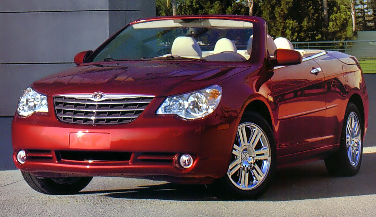 2008 Chrysler Sebring Limited Convertible With Images Sebring