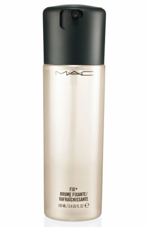 Spray all over face after makeup then pat with a beauty blender for a seamless flawless look :))))