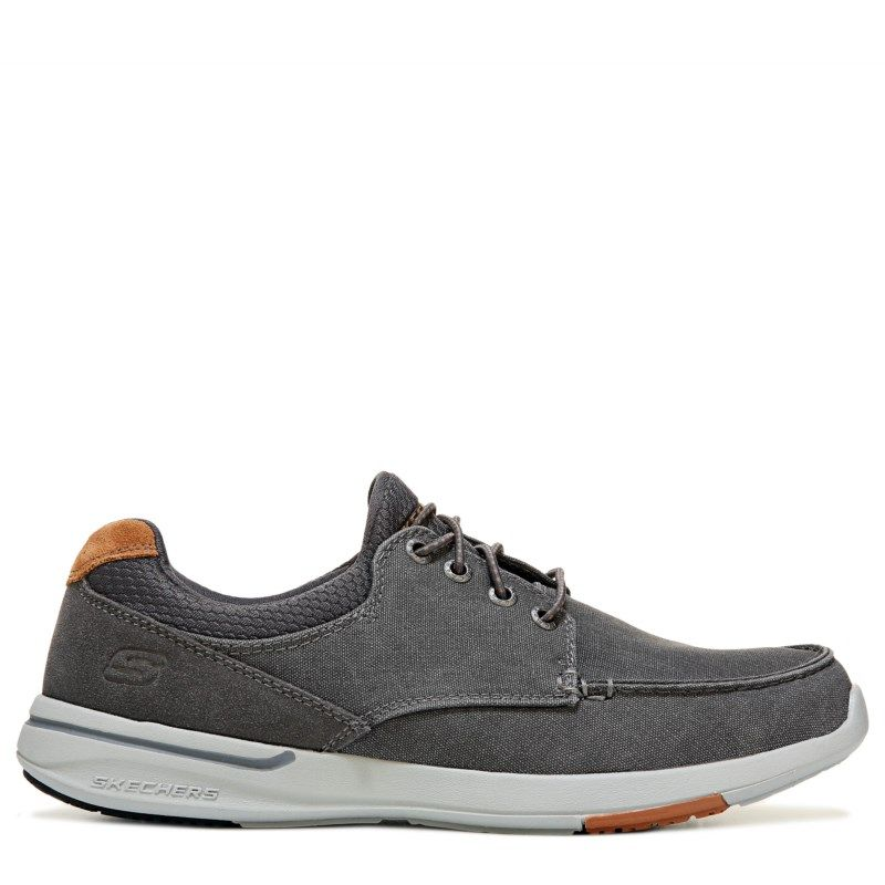 Skechers Men's Mosen Relaxed Fit Sneakers (Charcoal