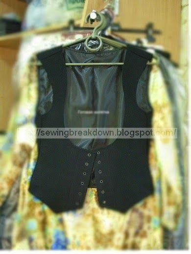 خياطة و تفصيل خطوات خياطة سترة بنات بالصور Girls Jacket Jackets Varsity Jacket