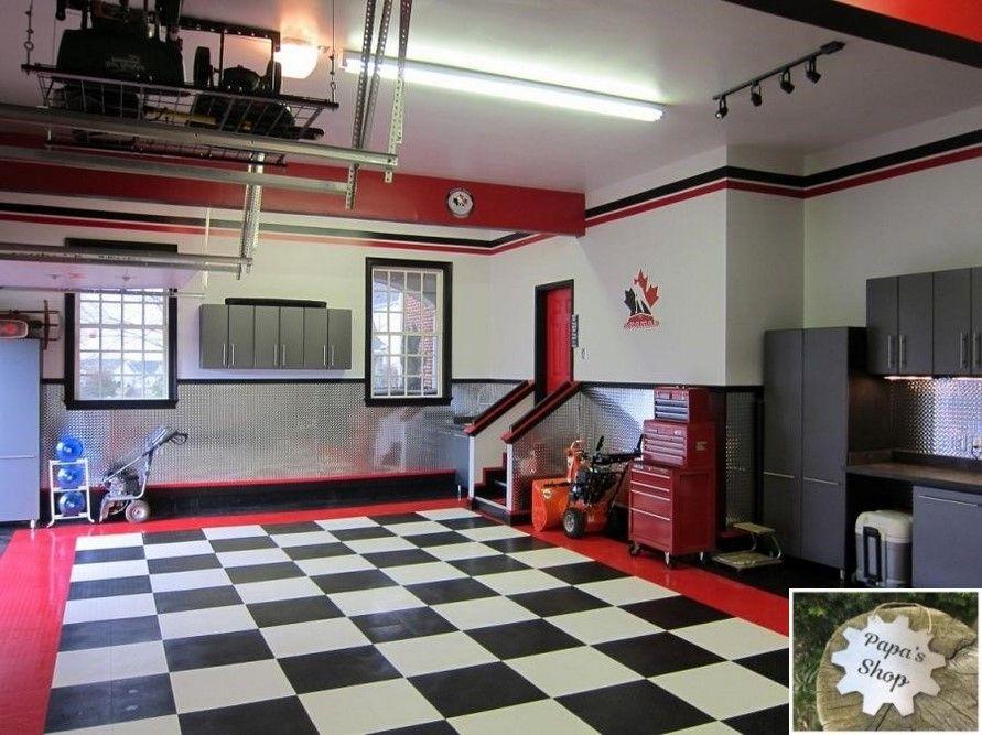 How To Create Your Own Garage Workshop Garage Design Interior
