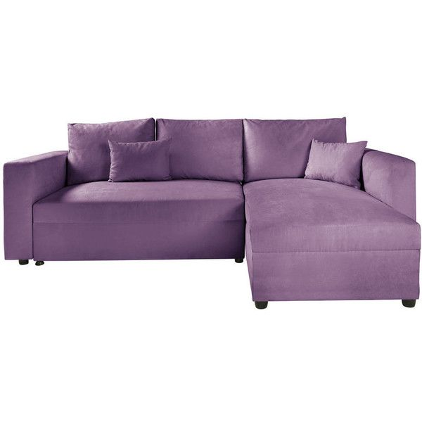Sofa found on Polyvore featuring home, furniture, sofas, couch, interiors, purple, purple sofa, purple couch and purple furniture