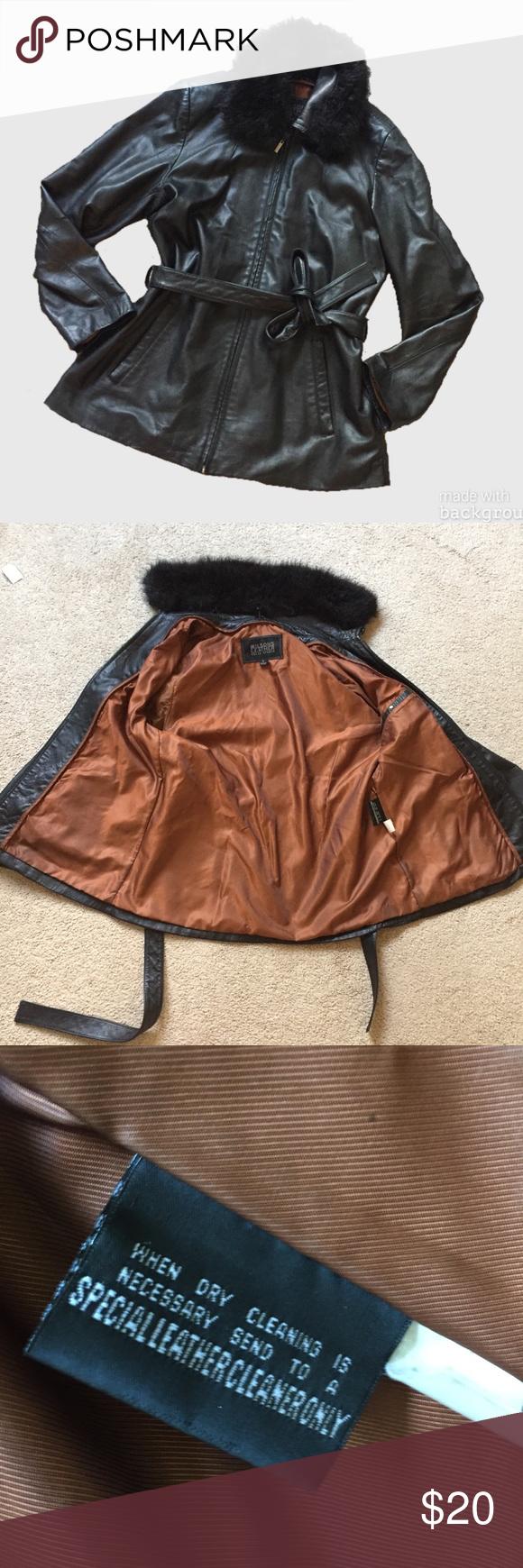 Wilsons Leather Pelle Studio Jacket Size L Wilsons
