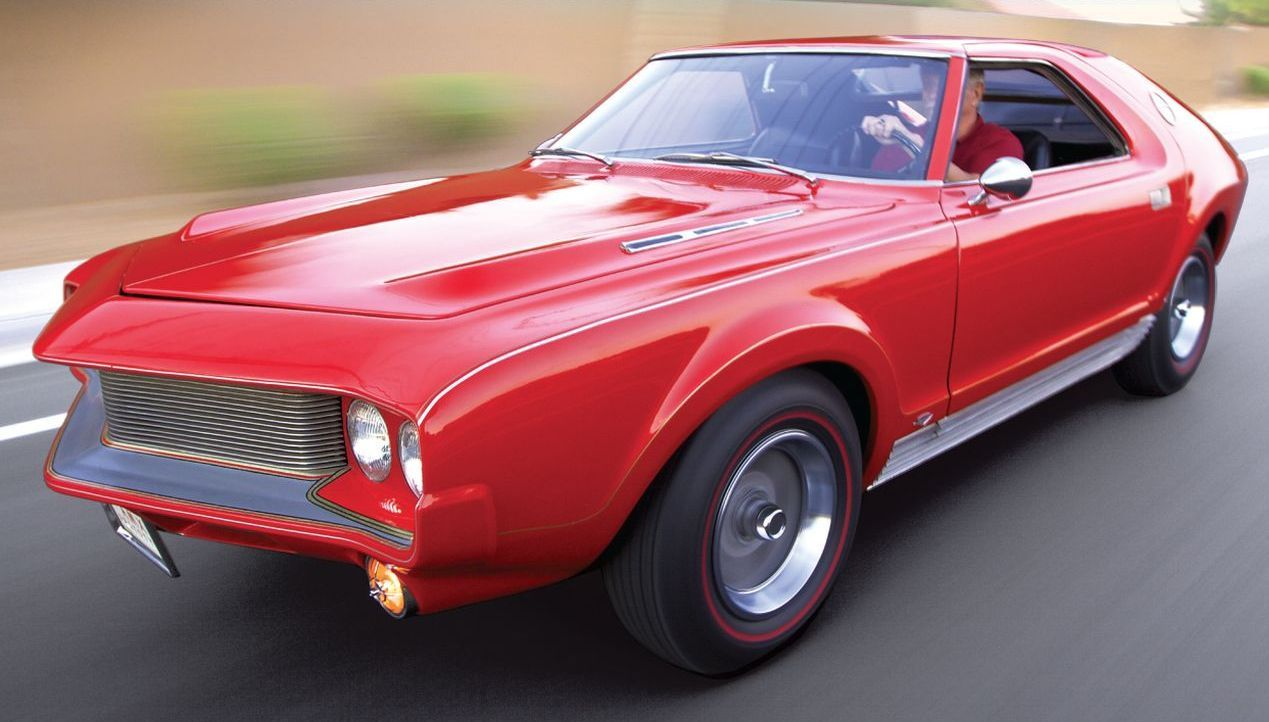 And then came along American Motors with its AMX concept, first ...