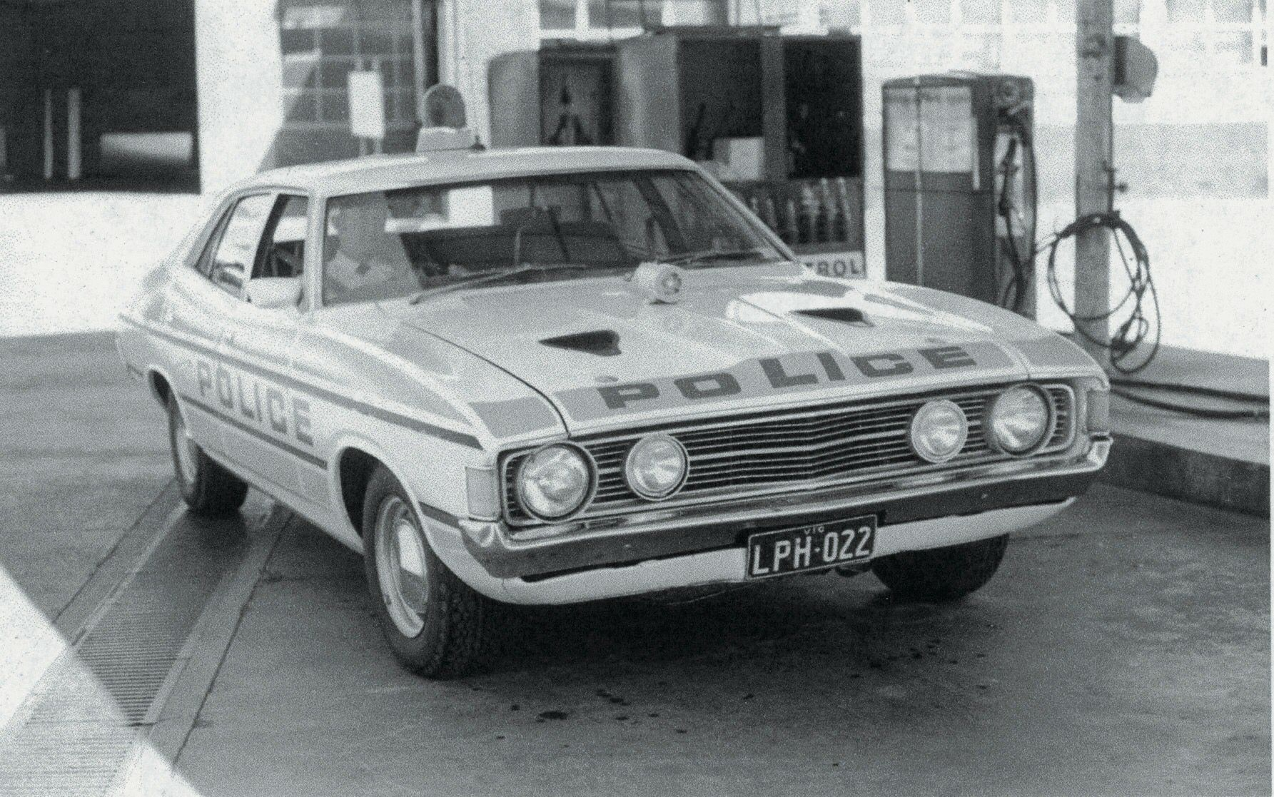 Ford Falcon Police Car Ford Police Police Cars Commercial Vehicle