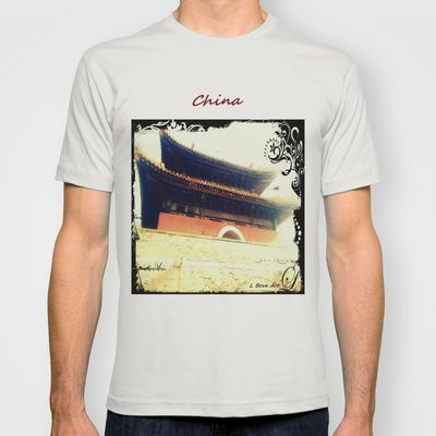 China Temple T-shirt by Car Design Education Tips - $22.00