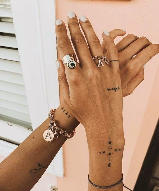 70+ Best Small and Simple But Great Tattoos- 2020 – Page 67 of 72 – myflyinghair.com – Tattoos & Piercings