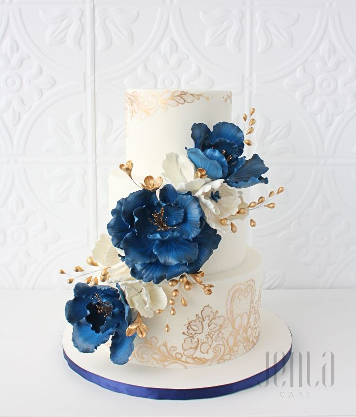 Pin On Wedding Cakes Elegant