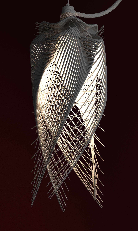 lamp shade 3d print by studioluminaire