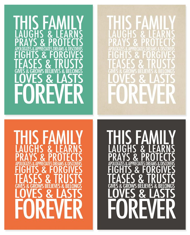 Family Is Forever Quotes Amazing 2013 Project Life Pages  Printable Cards  Forever Quotes And