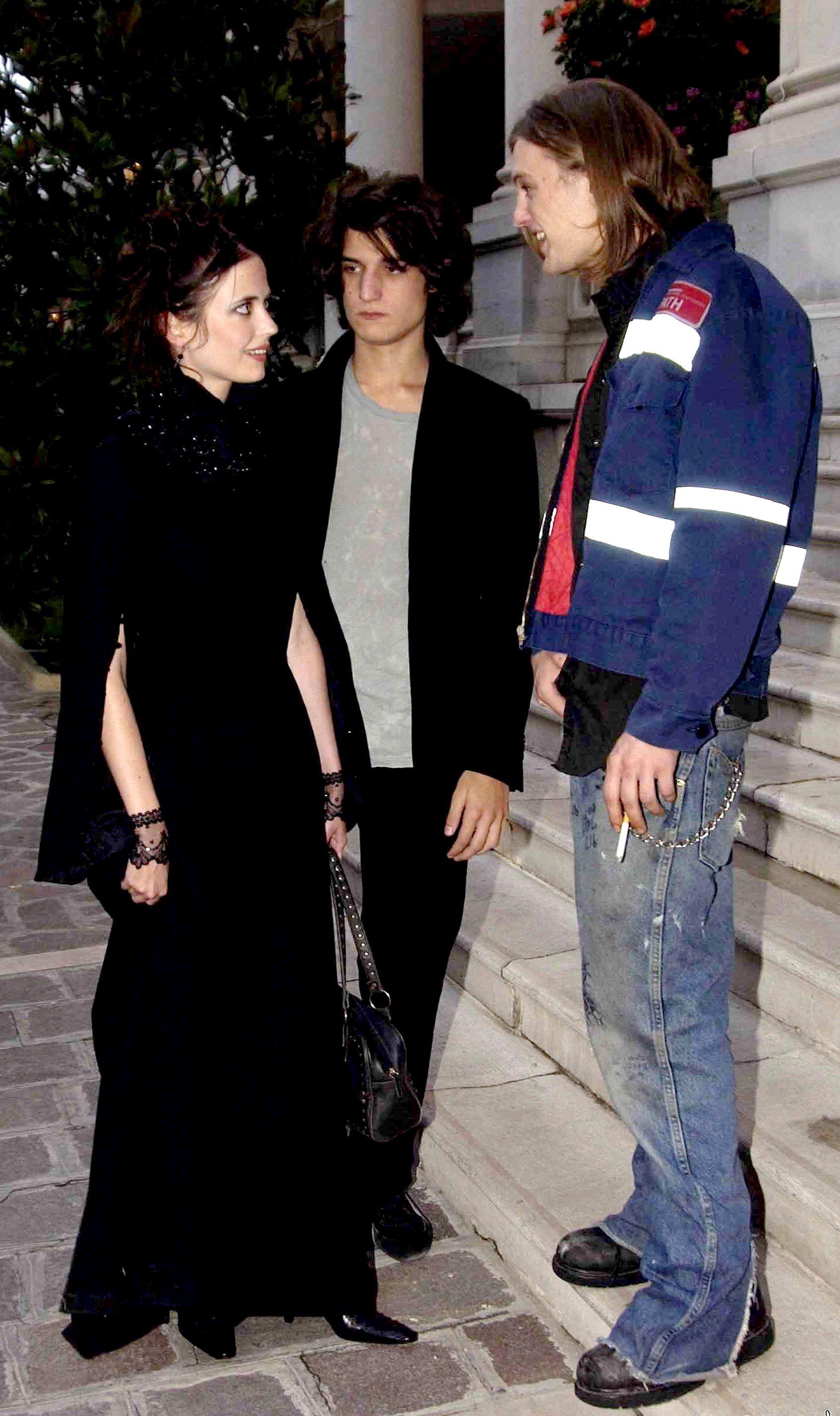 Eva Green with Louis Garrel and Michael Pitt | 'The Dreamers' Screening at  Venice Film Festival -Sept. 2003