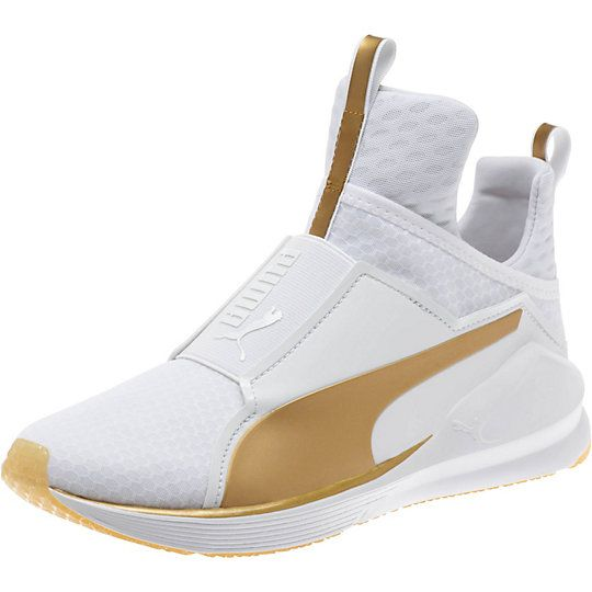 Puma White And Gold