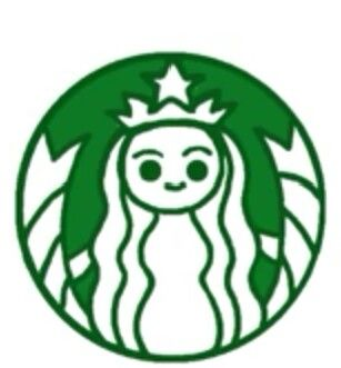 Starbucks Logo Kawii Chibis In 2019 Drawings