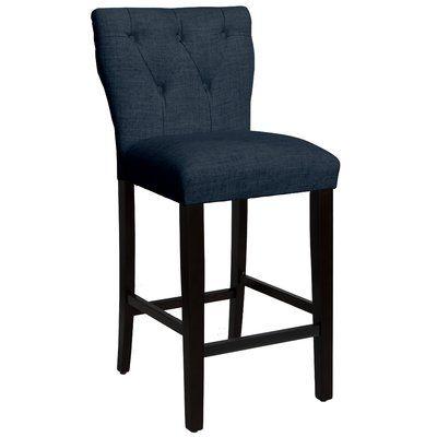 Custom Upholstery Evelina 31 Bar Stool Bar Stools Stool 24