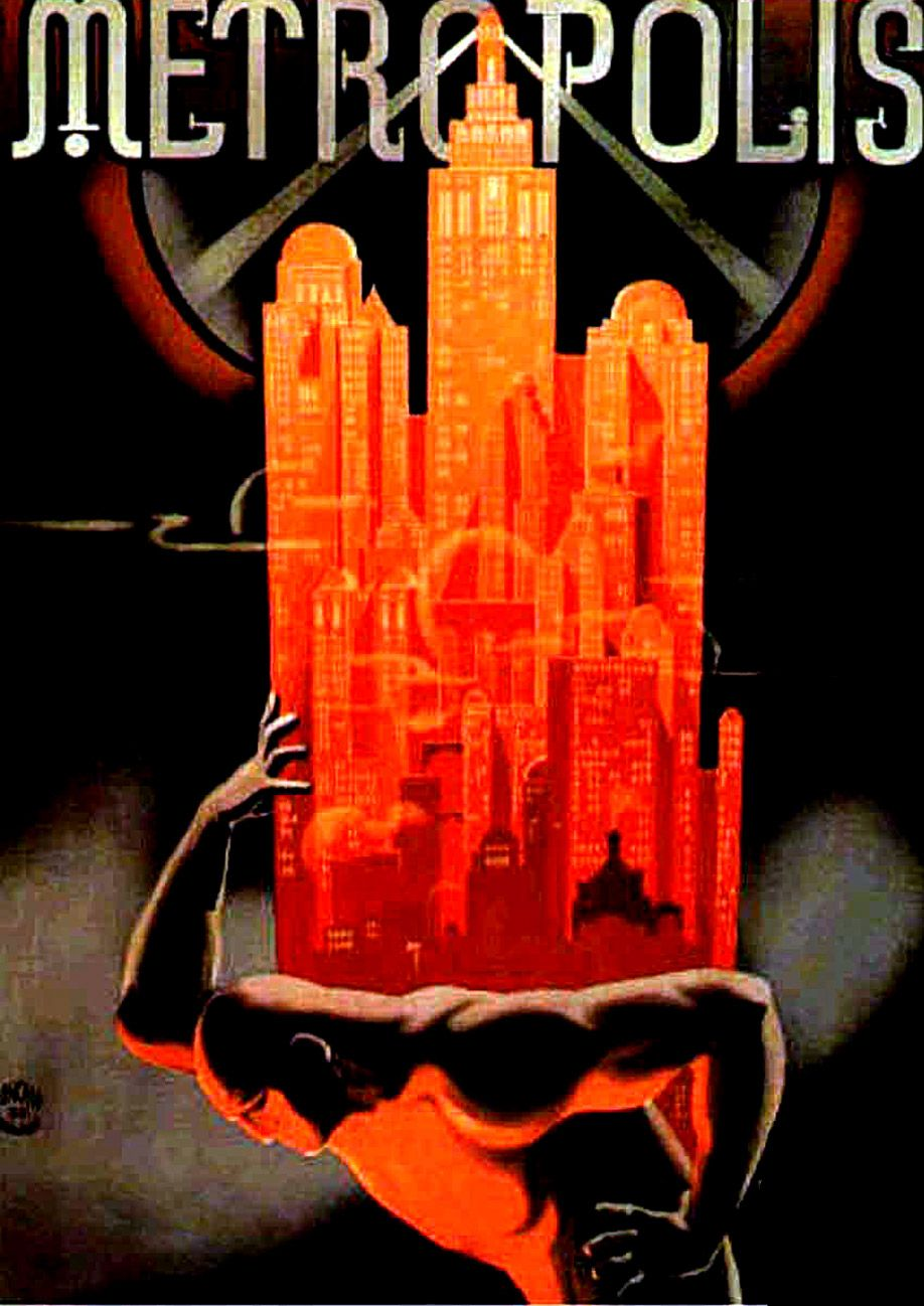 6 Beautiful Posters For Metropolis Movie Poster Art Metropolis Poster Art Deco Posters