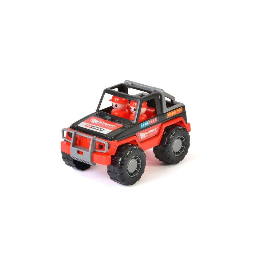 Mammoet Jeep Met Speelfiguren Jeep Auto