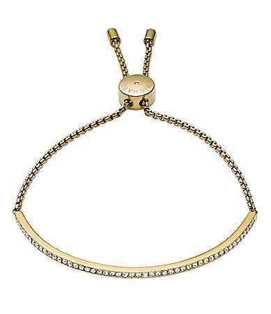 Michael Kors Pav Bar Slider Bracelet #Dillards   Michael ...