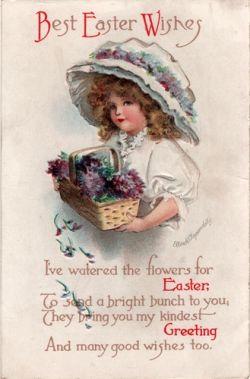 Easter Vintage Postcards