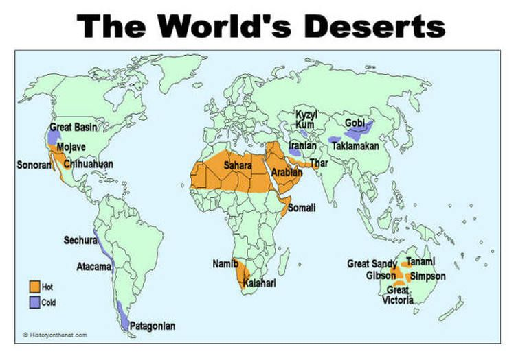 hot and cold | Deserts | Cold deserts, Deserts of the world ...